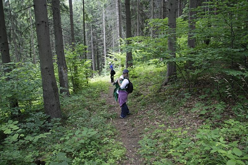 W Górach Sowich z niemowlakiem i młodzieżą