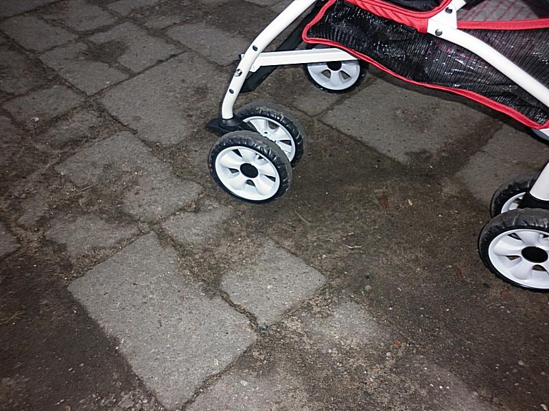 Z wózkiem po mieście…
