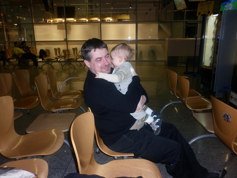Z dzieckiem w samolocie