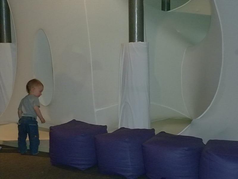 Baby Space – niezwykła instalacja choreograficzna dla dzieci