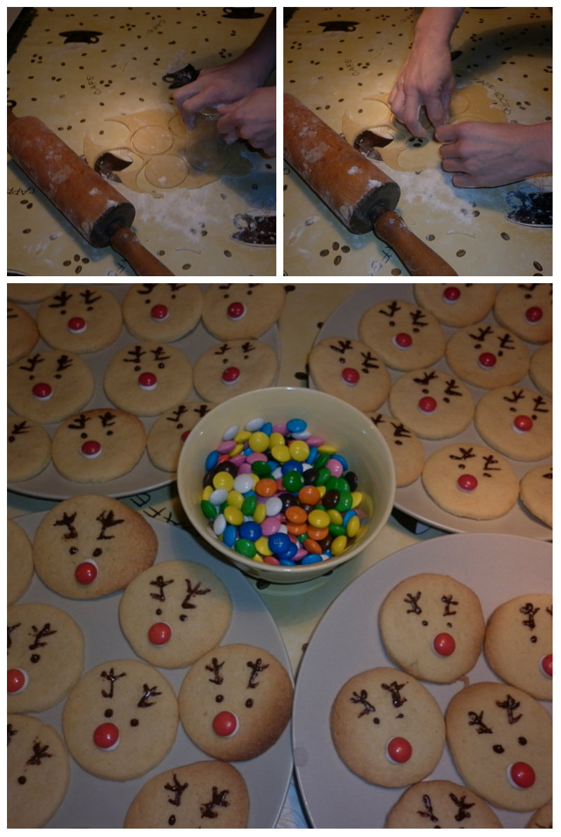 ciasteczka rudolfy