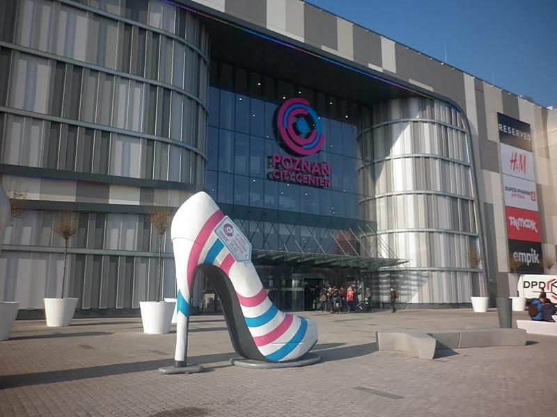 Z dzieckiem do centrum handlowego Poznań City Center