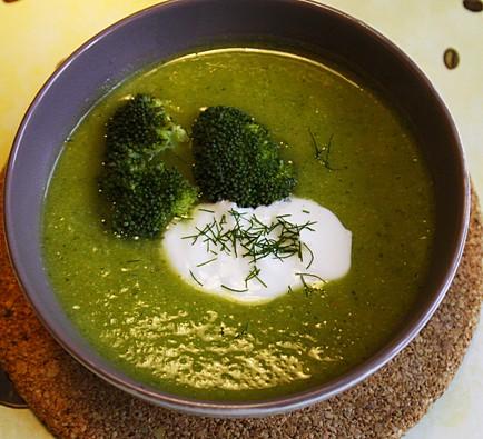 Krem z brokułów 5