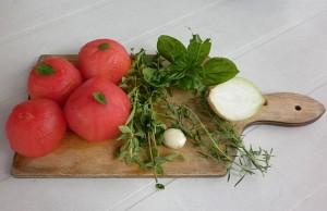 letnia pomidorówka