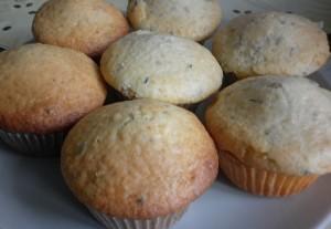 muffinki lawendowe