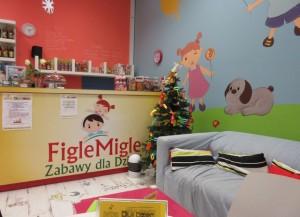 Figle Migle – sala zabaw dla dzieci w Panoramie