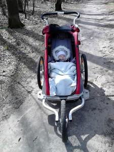 bieganie z dzieckiem