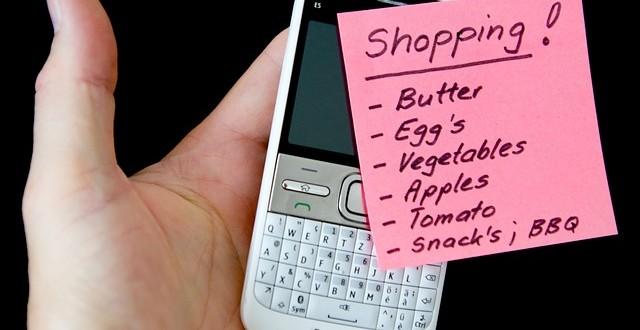 lista zakupów